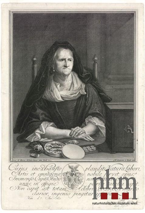Esther Barbara Von Sandrart Geb Bloemart Objekt Nhm Wien