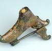 Schnabelschuhfibel aus Bronze (Leopoldau); Bild 0