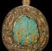 Türkis, Objekt in Form eines Talismans; Bild 0