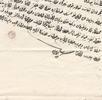 Theodor Kotschy – Persisches Reisedokument; Bild 0