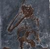 Skelett eines Oreopithecus bambolii; Bild 0
