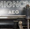 AEG Mignon 4 - Zeigerschreibmaschine; Bild 4
