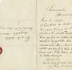 Brief des Maori Na-Pini-Te-Kore-kore, an Ki a Te Hoteta; Bild 0