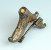 Schnabelschuhfibel aus Bronze (Leopoldau); Bild 3