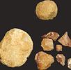 Gezähe und Silexknollen; Bild 1