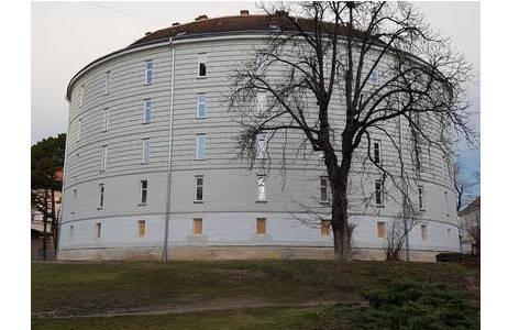 Der Narrenturm in dem sich die pathologisch-anatomische Sammlung befindet; Foto: NHM Wien