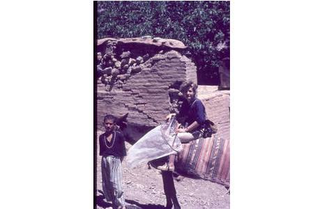 Eva Vartian in Derbent 1963