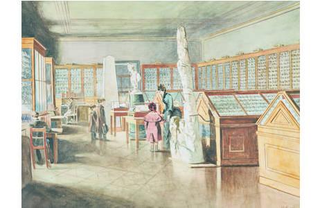Technik: Aquarell, Künstler: Eduard Ameseder ( 1856 – 1938)