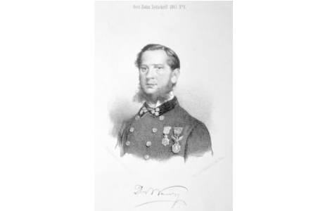 Heinrich Wawra Ritter von Fernsee (geboren als Jindrich Blazej Vávra); Foto: NHM Wien