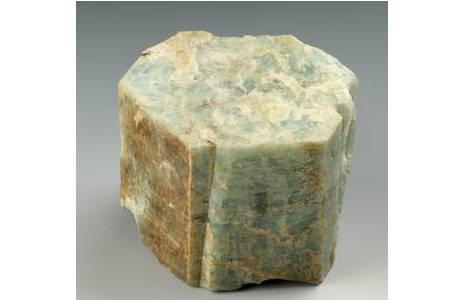 Dickprismatischer Beryll-Kristall von New Hampshire, USA; Foto: A. Schumacher, NHM Wien