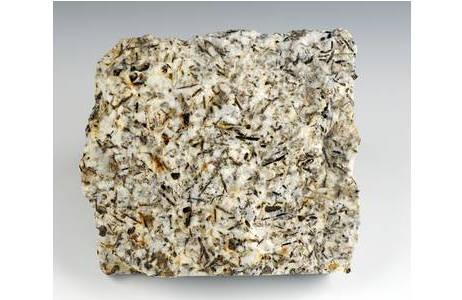 Grobkörniger Granit von Gebharts im Waldviertel; Foto: A. Schumacher, NHM Wien