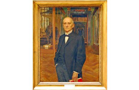Hans Rebel als Erster Direktor des Museums; Foto: H. Bruckner, NHM Wien