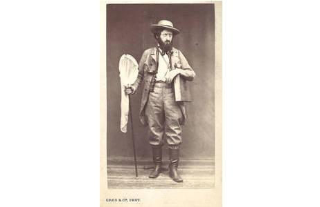 Guillemot , Antoine Bartéhlemy Jean (1822-1902), Visitkarten-Portrait, Hist. Portraitsammlung, Lepidopterasammlung, NHMW