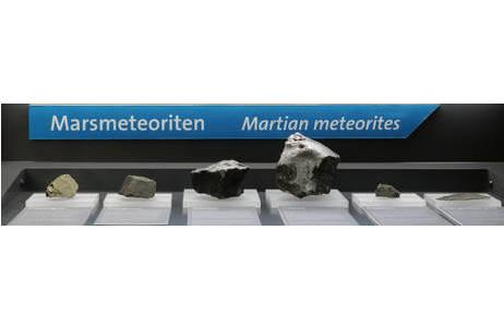 Marsmeteorit Chassigny (A276): Foto: A. Schumacher, NHM Wien