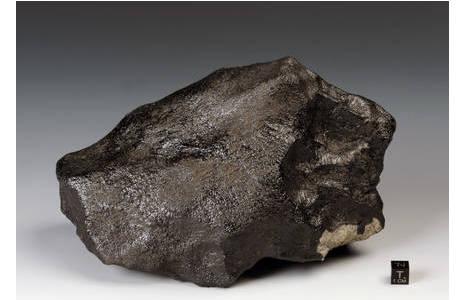 Steinmeteorit Stannern (A21): Foto: A. Schumacher, NHM Wien