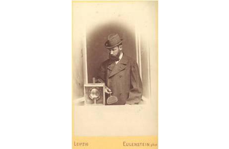 Oscar Struve, Leipzig; bis 1888 Mitglied des Entomolog. Vereins zu Stettin, Hist. Portraitsammlung, Lepidopterasammlung, NHMW
