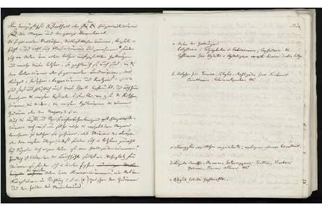 Technik: Handschriften Tusche & Bleistift, Künstler: Johann Natterer