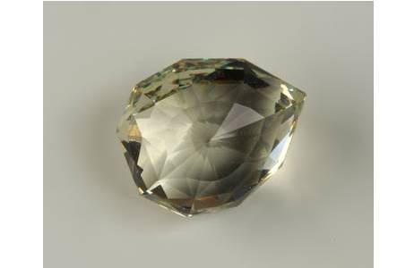 Glasreplik des Florentiner Diamanten; Foto: A.Schumacher, NHM Wien