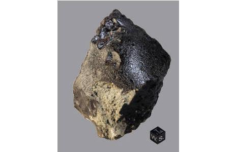 Marsmeteorit Tissint (N9388): Foto: A. Schumacher, L. Ferrière, NHM Wien